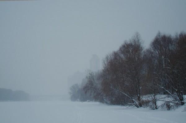 Снегопад над Алыми Парусами