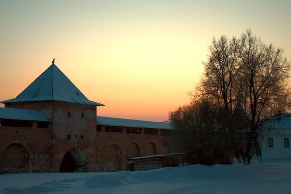 В тиши заката (Зарайский кремль)