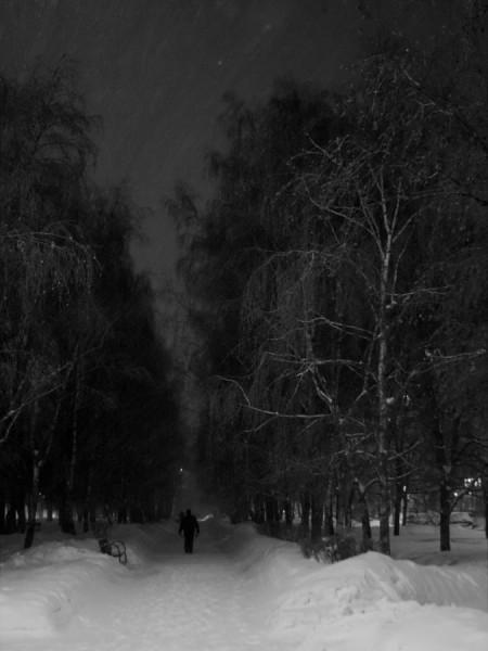 Ночной Дозор выходит на тропу (Москва, Сходненская)