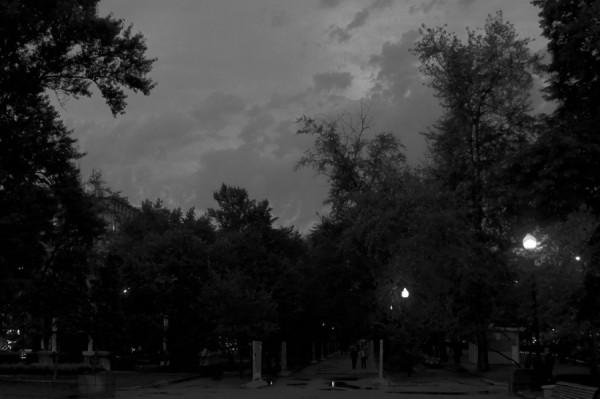 Сумерки осени (Никитский бульвар)