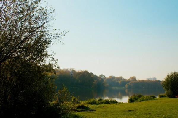 Последний день индейского лета - Люблинский пруд