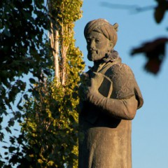 Улыбка поэта - Памятник Алишеру Навои на Серпуховской площади