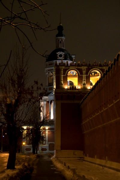 Западная стена Донского монастыря