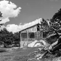 Деревянности. Кордон Красный Камень Ялтинского горно-лесного заповедника